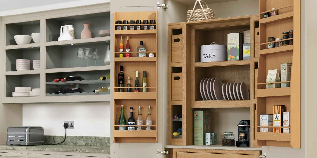 Mereway, English Revival, Signature Collection Built-In Pantry