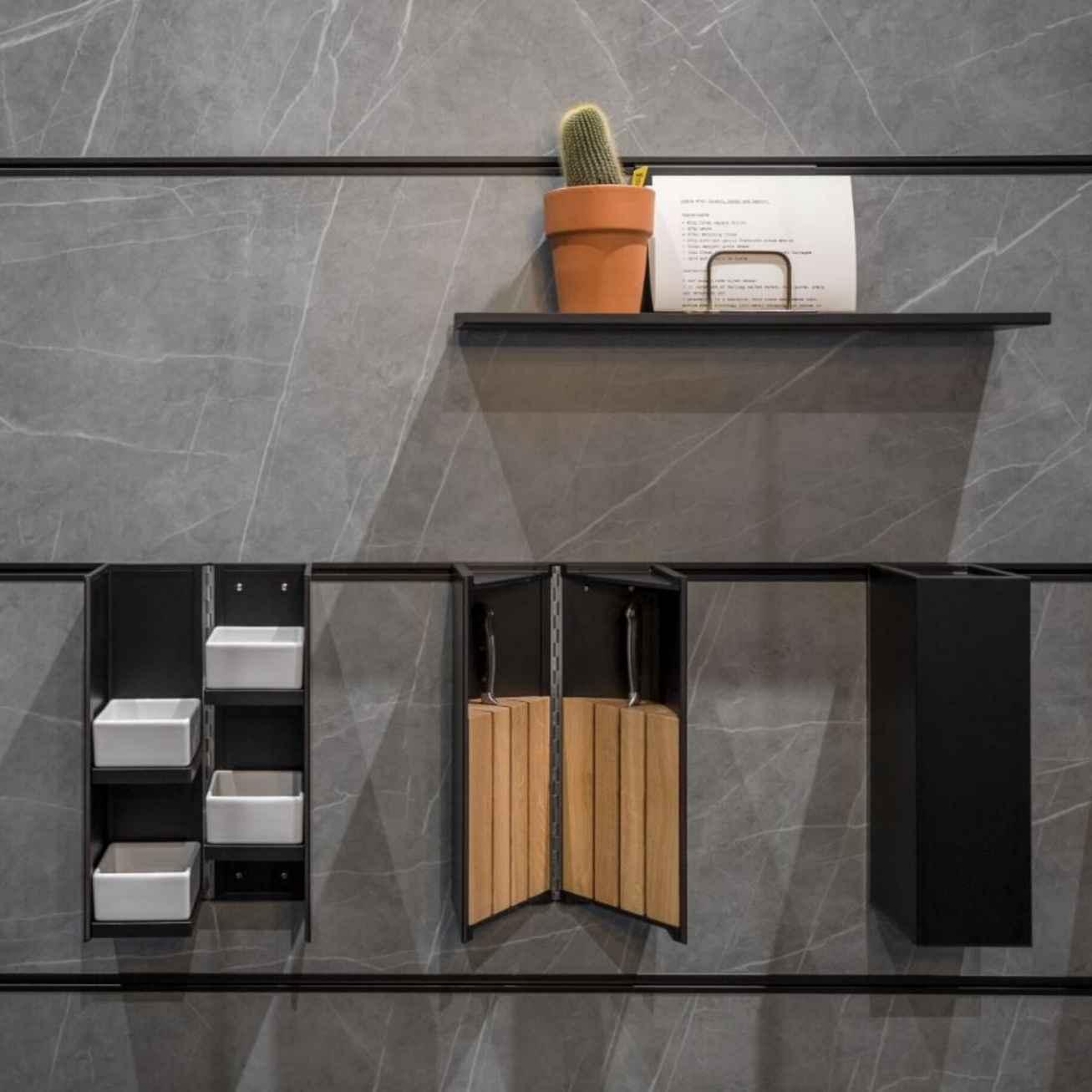 Next 125, Schueller Wall-Mounted Kitchen Storage