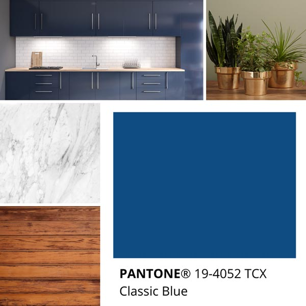 Pantone Classic Blue 19-4052 TCX