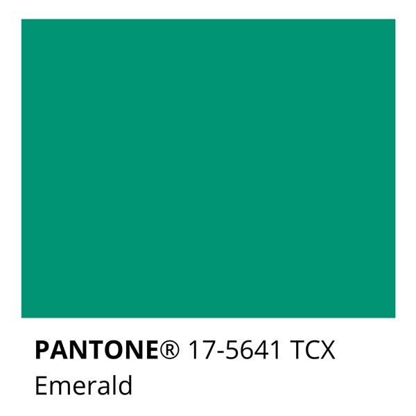 Pantone Emerald 17-5641 TCX