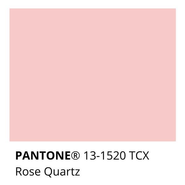 Pantone Rose Quartz 13-1520 TCX