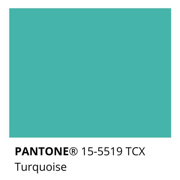 Pantone Turquoise 15-5519 TCX