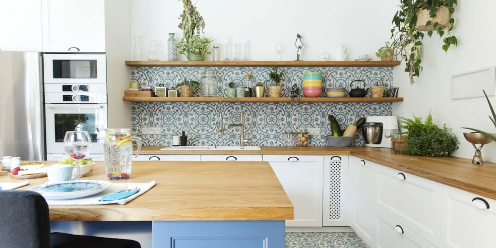 Personalised kitchen interior