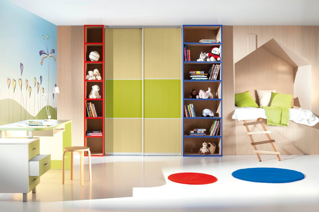 Custom child's bedroom