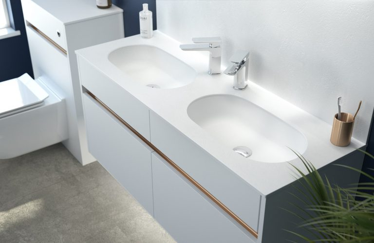 Contemporary Fitted Flat White Cameo (2)