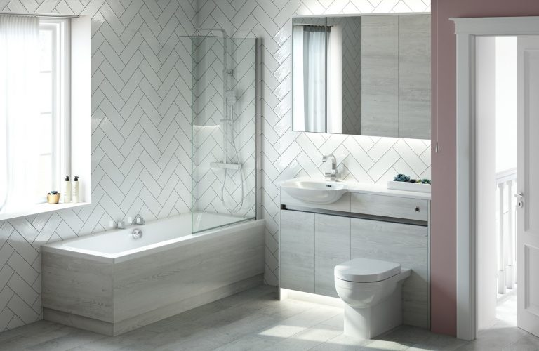 Contemporary Fitted Sandwashed White