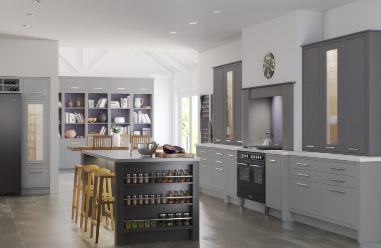 Modern Classic Shown In Cadet Grey, Castle Grey _ Anthracite Grey