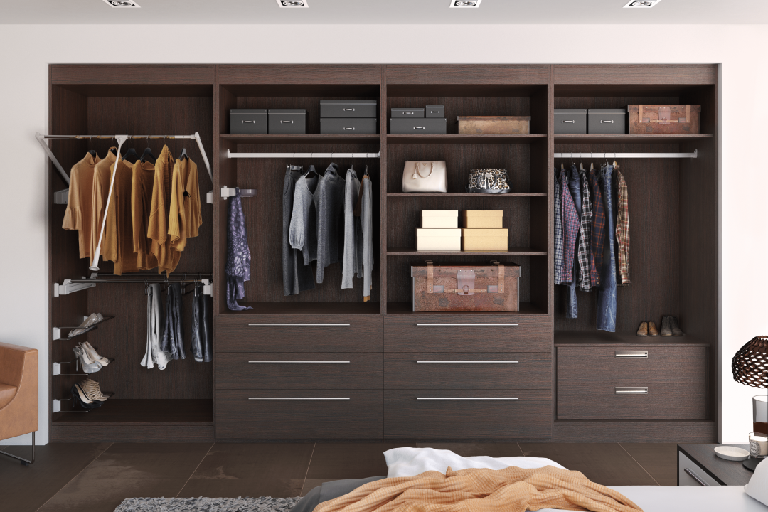 Custom built-in wardrobe
